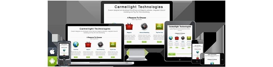 responsive website design banner